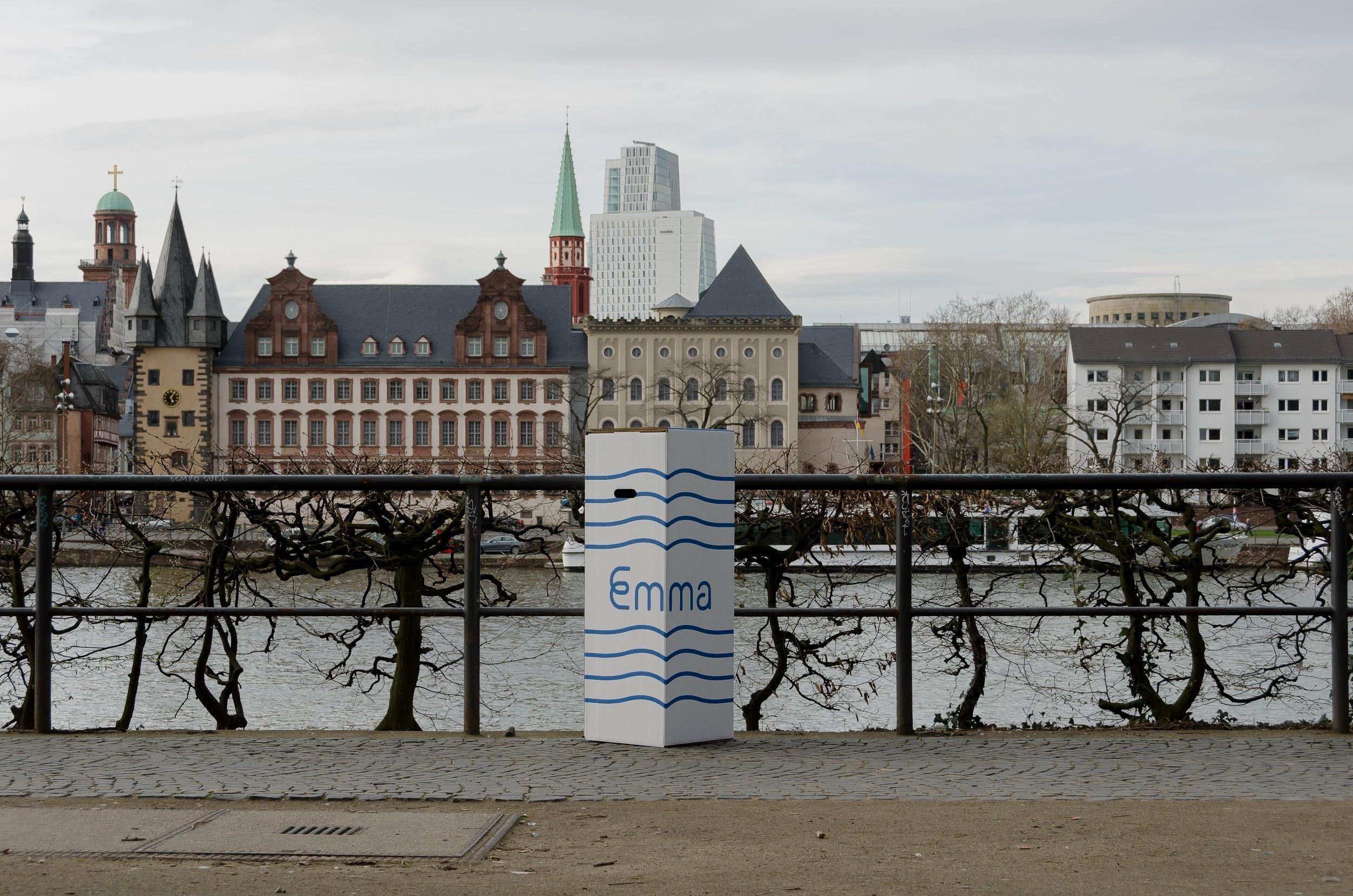 Emma box in Frankfurt
